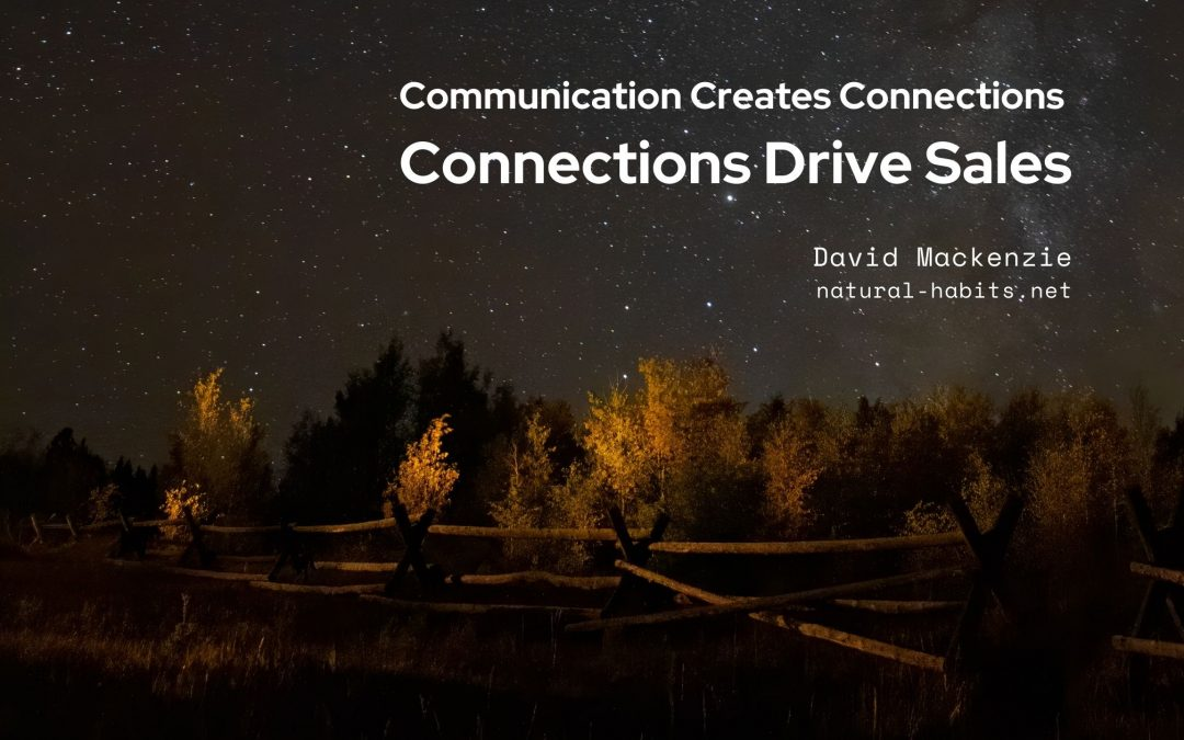 Connections Drive Sales